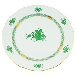 ASSIETTE PLATE - ASSIETTE DE TABLE EN PORCELAINE HEREND - APPONYI