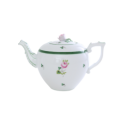 THEIERE EN PORCELAINE HEREND - VIEILLE ROSE - VRH
