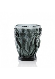 VASE EN CRISTAL GRIS LALIQUE - COLLECTION BACCHANTES